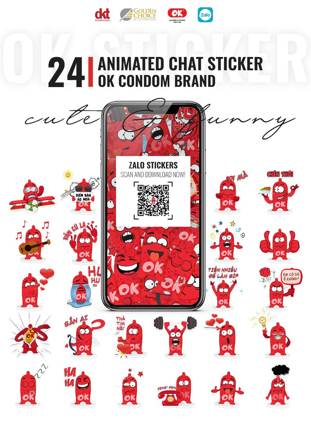 Bộ sticker của OK trên Zalo: kỷ lục hơn 32 triệu lượt sử dụng để chat - Ảnh 1.