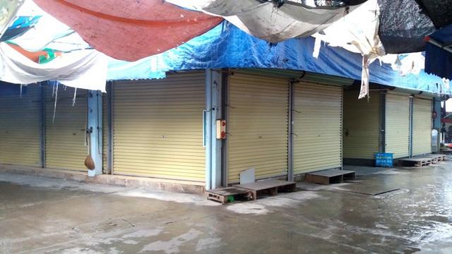 Dừng họp chợ ở Hải Dương: Nơi vẫn bán, chỗ không bóng người - Ảnh 13.