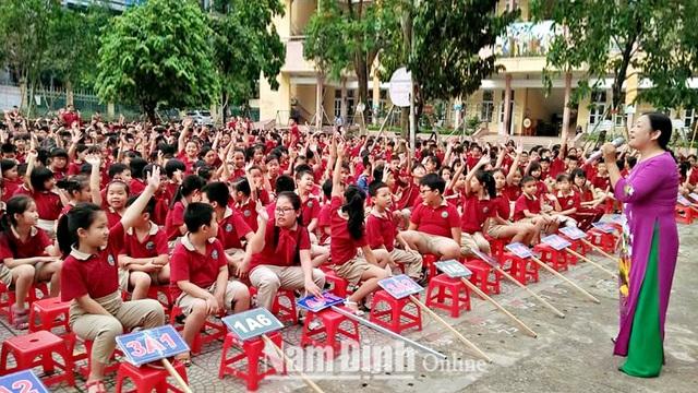Nam Định: Đẩy mạnh công tác truyền thông về Dân số và Phát triển - Ảnh 1.