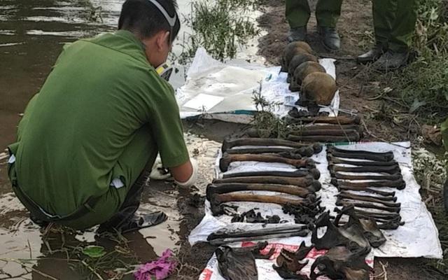 Phát hiện 4 bộ xương người gần sông Sài Gòn - Ảnh 1.
