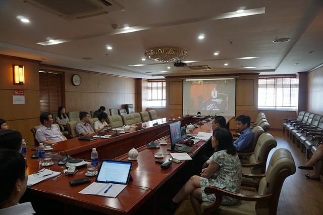 Tổng cục Dân số họp trực tuyến với WHO khu vực Tây Thái Bình Dương về già hóa dân số - Ảnh 1.