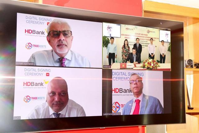 HDBank tham gia TRADEASSETS nhằm số hóa hoạt động tài trợ thương mại - Ảnh 1.