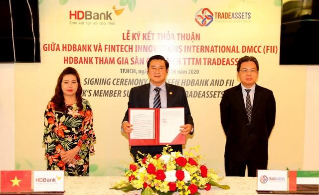 HDBank tham gia TRADEASSETS nhằm số hóa hoạt động tài trợ thương mại - Ảnh 2.