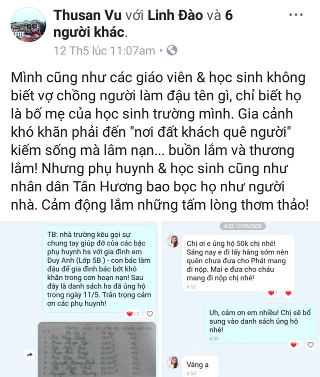 Vụ vợ chồng người bán đậu ở Hải Dương bị truy sát: Hơi ấm tình người từ nỗi đau thương - Ảnh 3.