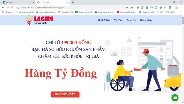 LAGIDI - website cung cấp nguồn sản phẩm chăm sóc sức khỏe hàng tỷ đồng chỉ với 499k - Ảnh 1.