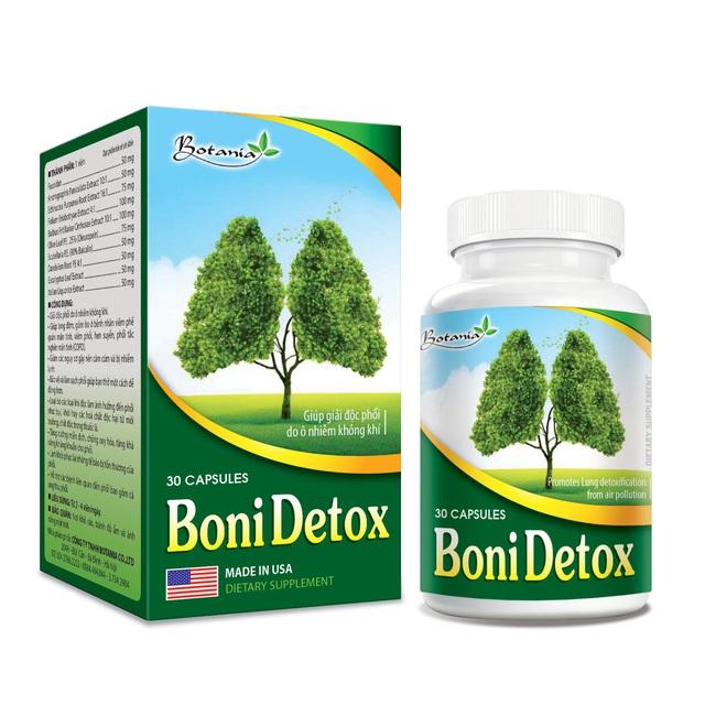 BoniDetox – Bí quyết vàng giải độc phổi do ô nhiễm không khí và hút thuốc lá - Ảnh 5.