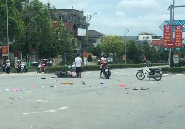 Xót thương nữ điều dưỡng bị xe bán tải vượt đèn đỏ tông tử vong ở Lào Cai - Ảnh 1.