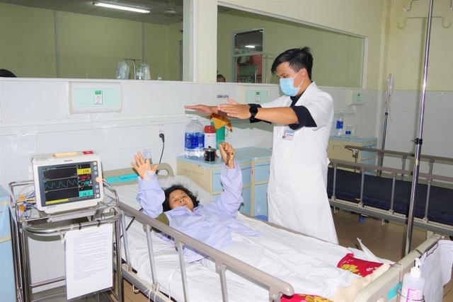 Cấp cứu thành công bệnh nhân bi đột quỵ nhồi máu não cấp - Ảnh 1.