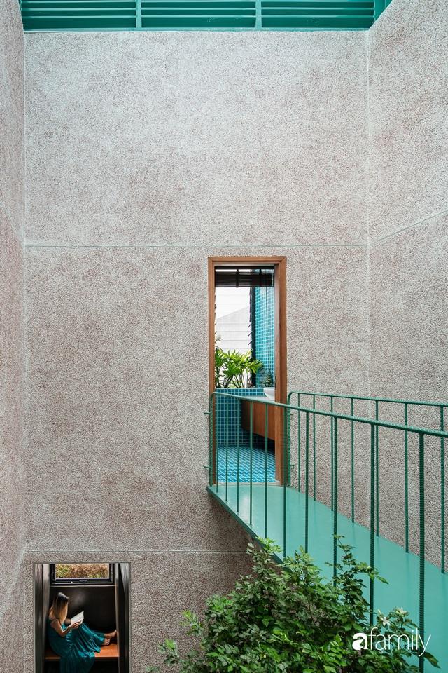 Nhà phố hướng Tây vẫn mát rượi không cần điều hòa nhờ thiết kế cầu thang thông gió và lấy sáng tiện ích ở Quận 7, Sài Gòn - Ảnh 16.