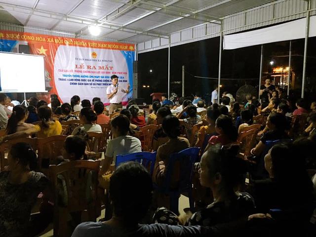 Hưng Nguyên (Nghệ An) ra mắt CLB phòng chống bạo lực gia đình - Ảnh 5.