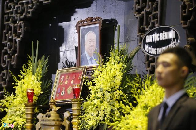 Lễ tang nguyên Chủ nhiệm Văn phòng Quốc hội Vũ Mão - Ảnh 2.