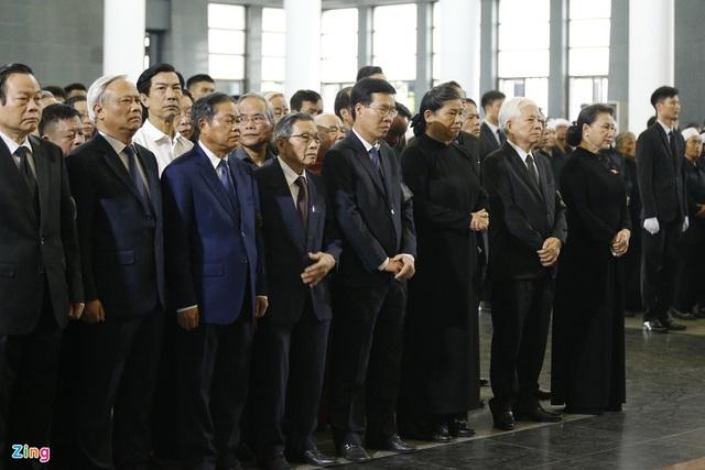 Lễ tang nguyên Chủ nhiệm Văn phòng Quốc hội Vũ Mão - Ảnh 3.