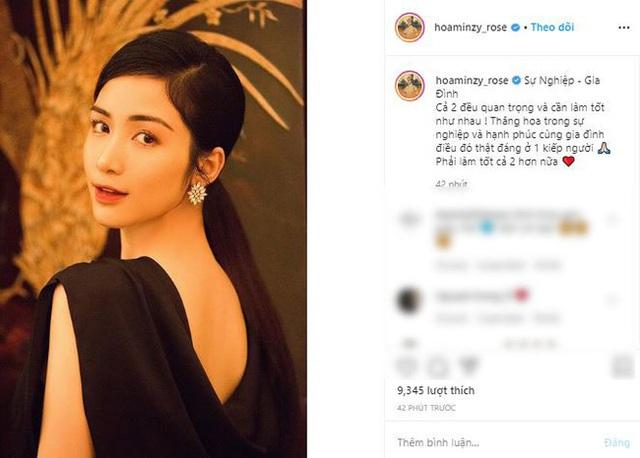Hòa Minzy bất ngờ chia sẻ đầy ẩn ý sau khi có thông tin bạn trai cũ Công Phượng tổ chức lễ ăn hỏi  - Ảnh 1.