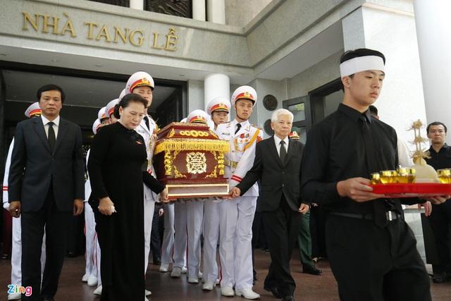 Lễ tang nguyên Chủ nhiệm Văn phòng Quốc hội Vũ Mão - Ảnh 13.