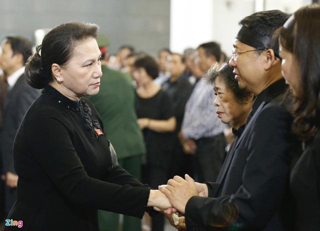 Lễ tang nguyên Chủ nhiệm Văn phòng Quốc hội Vũ Mão - Ảnh 4.