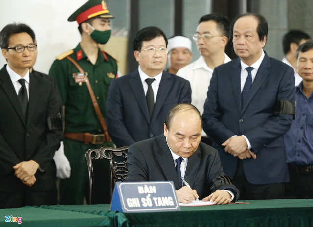 Lễ tang nguyên Chủ nhiệm Văn phòng Quốc hội Vũ Mão - Ảnh 6.
