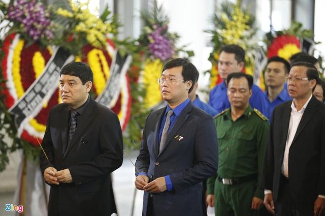 Lễ tang nguyên Chủ nhiệm Văn phòng Quốc hội Vũ Mão - Ảnh 8.