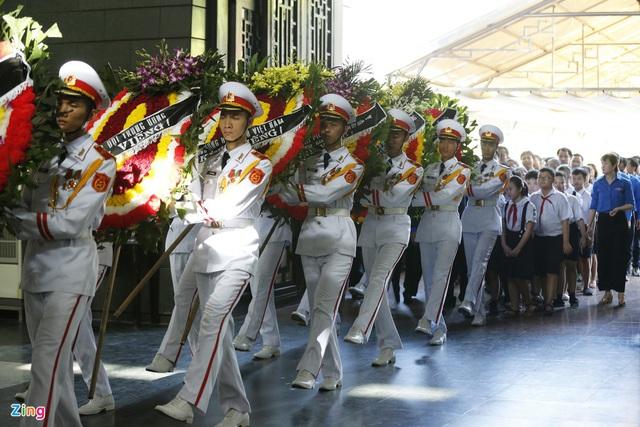 Lễ tang nguyên Chủ nhiệm Văn phòng Quốc hội Vũ Mão - Ảnh 9.