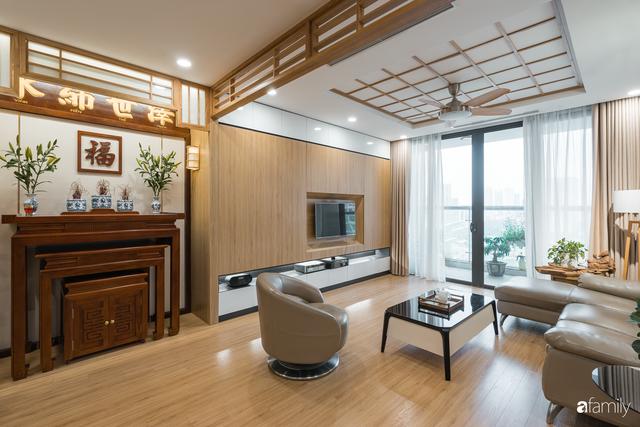 Ngắm căn hộ 120m² phong cách Nhật Bản đẹp đến từng chi tiết với tổng giá trị thi công nội thất 550 triệu - Ảnh 1.