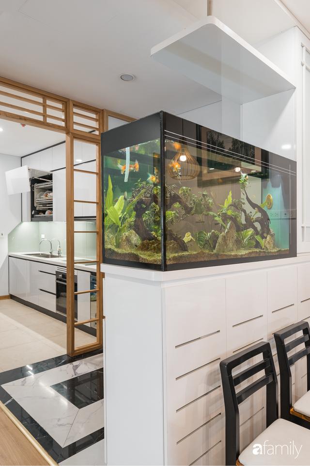 Ngắm căn hộ 120m² phong cách Nhật Bản đẹp đến từng chi tiết với tổng giá trị thi công nội thất 550 triệu - Ảnh 2.