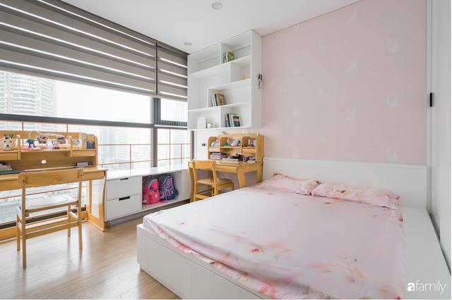 Ngắm căn hộ 120m² phong cách Nhật Bản đẹp đến từng chi tiết với tổng giá trị thi công nội thất 550 triệu - Ảnh 14.