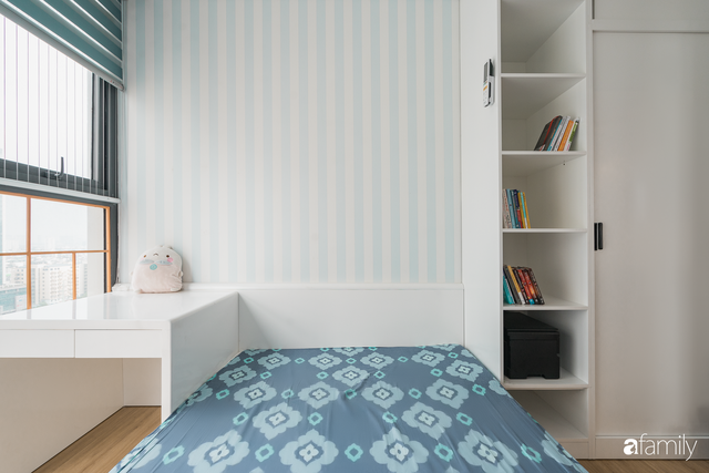 Ngắm căn hộ 120m² phong cách Nhật Bản đẹp đến từng chi tiết với tổng giá trị thi công nội thất 550 triệu - Ảnh 17.