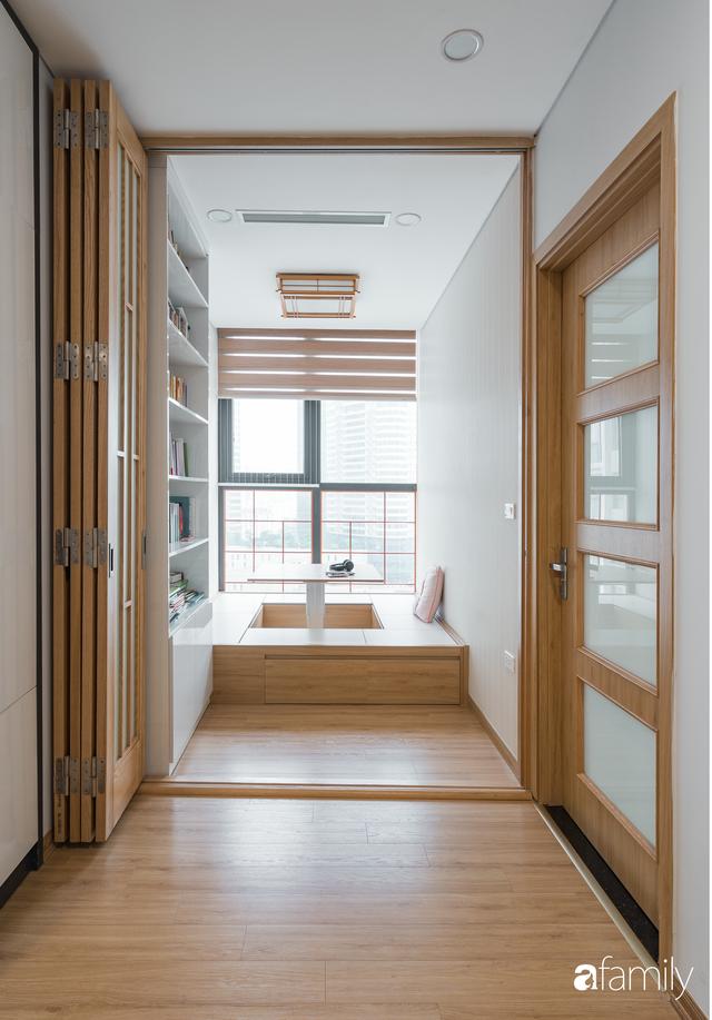 Ngắm căn hộ 120m² phong cách Nhật Bản đẹp đến từng chi tiết với tổng giá trị thi công nội thất 550 triệu - Ảnh 18.