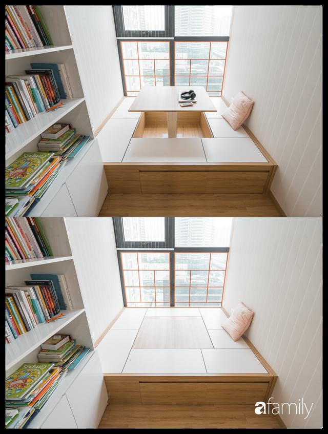 Ngắm căn hộ 120m² phong cách Nhật Bản đẹp đến từng chi tiết với tổng giá trị thi công nội thất 550 triệu - Ảnh 19.