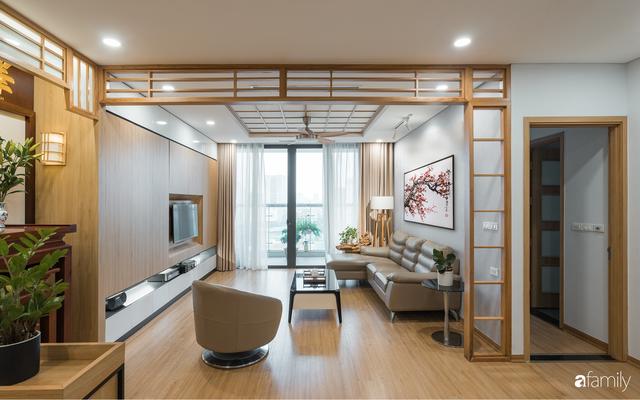 Ngắm căn hộ 120m² phong cách Nhật Bản đẹp đến từng chi tiết với tổng giá trị thi công nội thất 550 triệu - Ảnh 6.