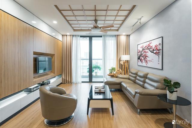 Ngắm căn hộ 120m² phong cách Nhật Bản đẹp đến từng chi tiết với tổng giá trị thi công nội thất 550 triệu - Ảnh 8.