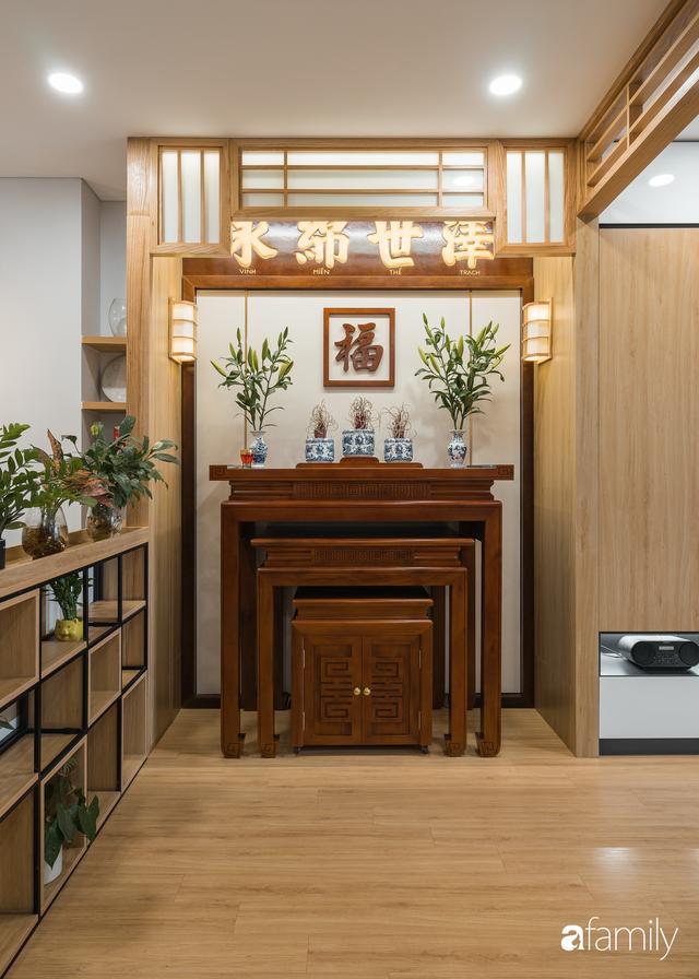 Ngắm căn hộ 120m² phong cách Nhật Bản đẹp đến từng chi tiết với tổng giá trị thi công nội thất 550 triệu - Ảnh 9.