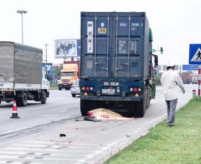 Hải Dương: Nam sinh viên đại học năm cuối gặp nạn tử vong trên đường về quê - Ảnh 1.