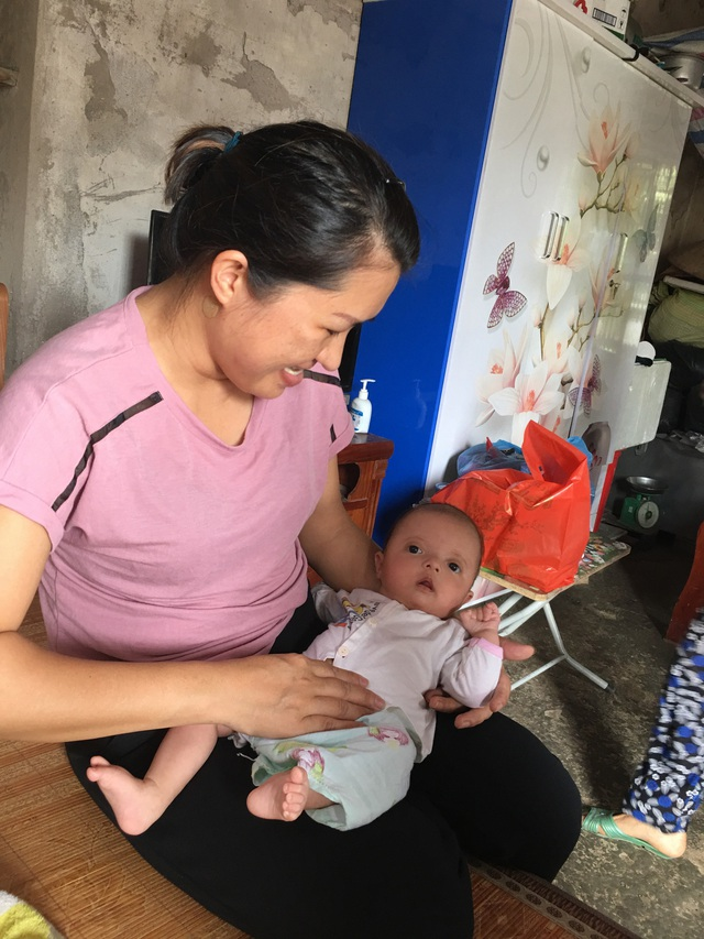 Xót xa bé gái hơn 4 tháng tuổi cần hỗ trợ để sớm phẫu thuật tim - Ảnh 4.