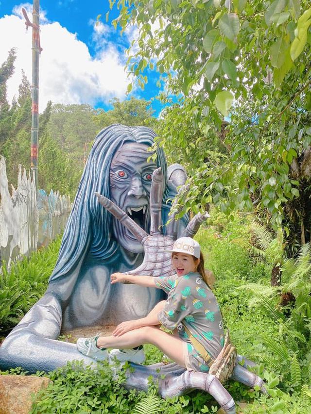 Khu du lịch Quỷ Núi ở Đà Lạt bị chê ghê rợn, ảnh hưởng mảng xanh - Ảnh 4.