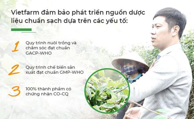 Trung tâm dược liệu Vietfarm: Điểm sáng về nuôi trồng và phát triển dược liệu sạch - Ảnh 2.