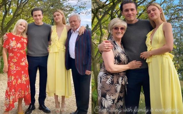 Con dâu nhà tỷ phú tiết lộ bí mật đằng sau bức ảnh đính hôn với Brooklyn Beckham, hóa ra cả Harper và Victoria giúp sức - Ảnh 4.