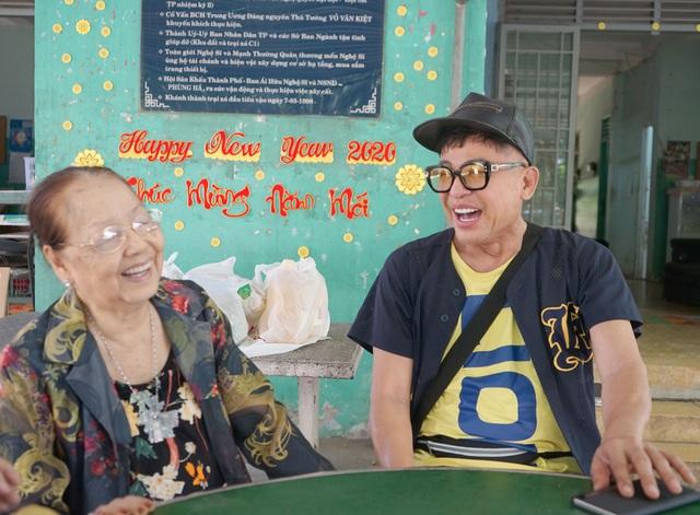Cuộc sống khi về già của các nghệ sỹ nổi tiếng ở Viện dưỡng lão nghệ sĩ TP.HCM - Ảnh 3.