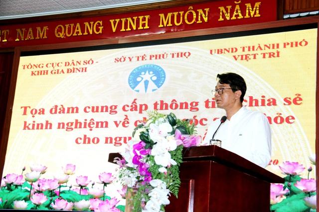 Phú Thọ tổ chức tọa đàm cung cấp kiến thức về chăm sóc sức khỏe người cao tuổi - Ảnh 1.