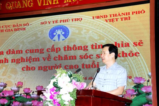 Phú Thọ tổ chức tọa đàm cung cấp kiến thức về chăm sóc sức khỏe người cao tuổi - Ảnh 2.
