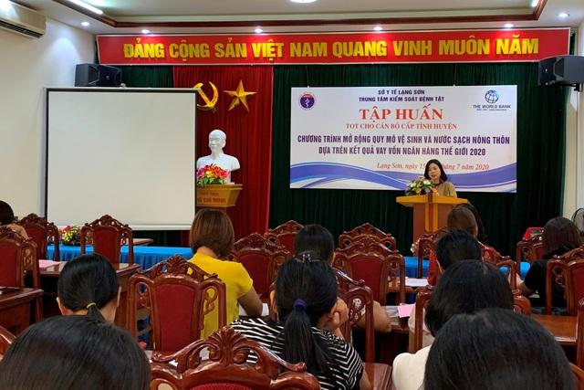 Lạng Sơn: Tập huấn chương trình Mở rộng quy mô nước sạch và vệ sinh nông thôn - Ảnh 1.