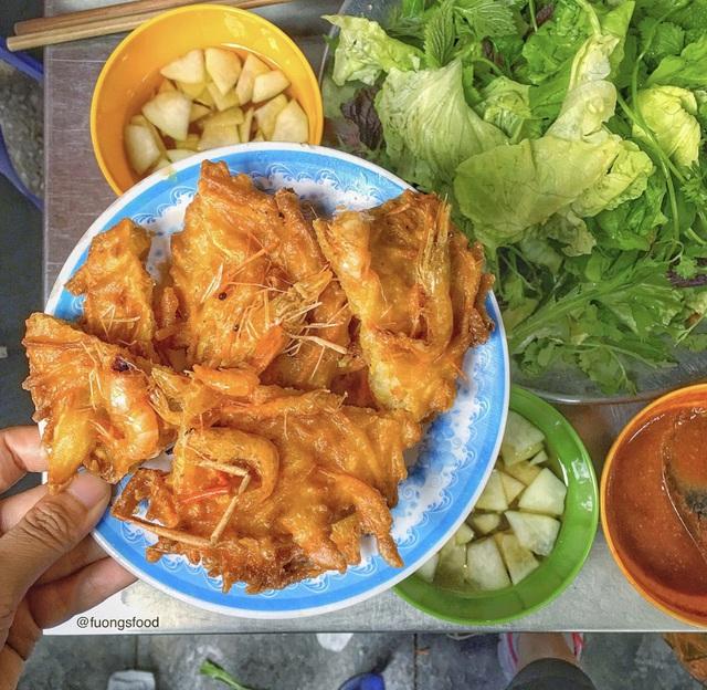 Bánh tôm và loạt món ngon hút giới trẻ Hà Nội ngày hè - Ảnh 10.