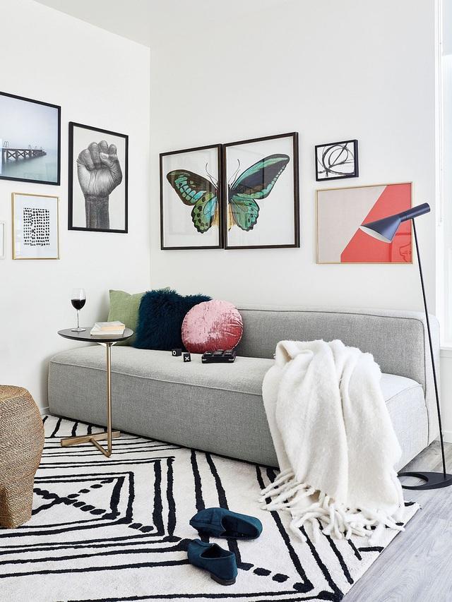Dù phòng khách nhà bạn có nhỏ thế nào đi nữa thì vẫn đẹp hoàn hảo nhờ 3 kinh nghiệm lựa chọn ghế sofa dưới đây - Ảnh 11.