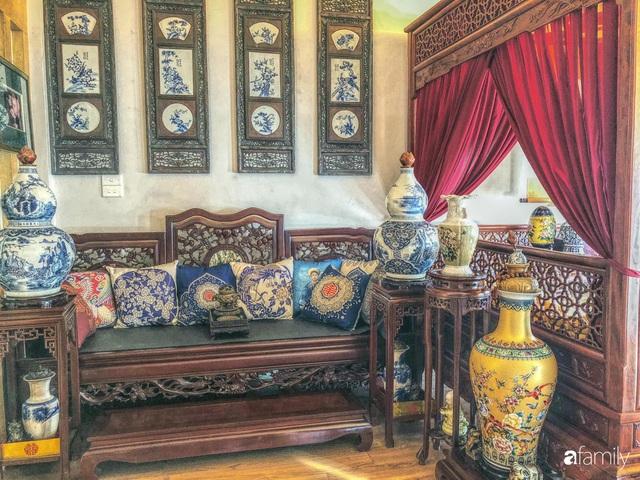 Ngôi nhà 70m² với phong cách độc nhất vô nhị toàn đồ quý hiếm của chàng trai độc thân Hà Nội - Ảnh 4.