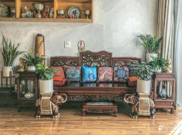 Ngôi nhà 70m² với phong cách độc nhất vô nhị toàn đồ quý hiếm của chàng trai độc thân Hà Nội - Ảnh 5.