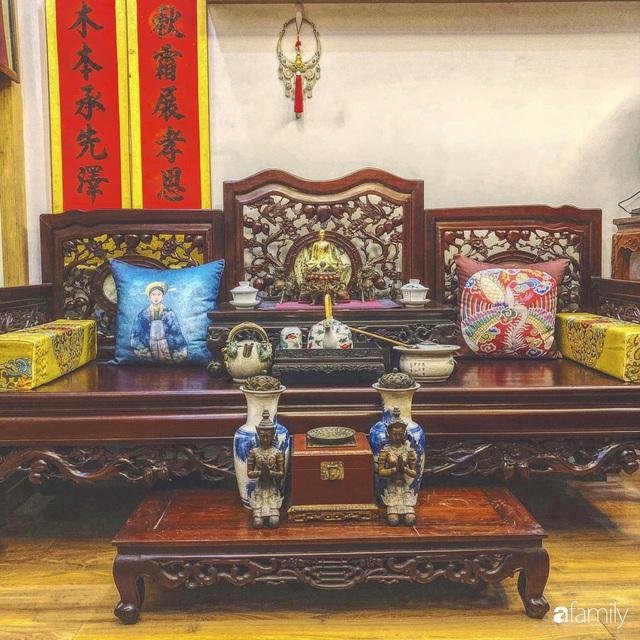Ngôi nhà 70m² với phong cách độc nhất vô nhị toàn đồ quý hiếm của chàng trai độc thân Hà Nội - Ảnh 10.