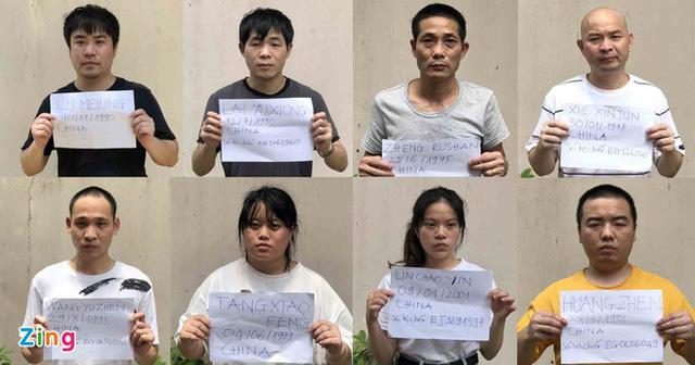 Bắt thêm 8 người Trung Quốc vượt biên vào TP.HCM tránh dịch Covid - Ảnh 2.
