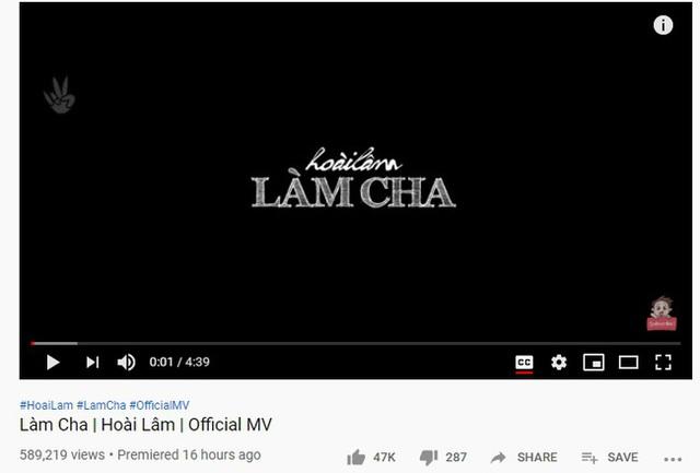 Hậu ly hôn, Hoài Lâm liên tục phát hành MV, thu lượt view khủng từ sản phẩm - Ảnh 1.