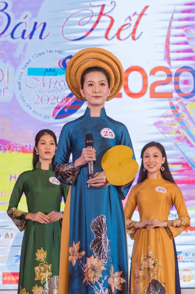 Vẻ đẹp chuẩn con gái Huế của thí sinh Hoa hậu Việt Nam 2020 - Ảnh 7.