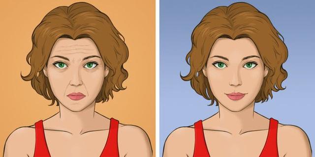Được coi là phương pháp giúp khuôn mặt trẻ hơn 10 tuổi mà không tốn kém, chị em tiếc gì 5 phút mỗi ngày mà không thực hiện ngay - Ảnh 2.