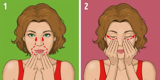 Được coi là phương pháp giúp khuôn mặt trẻ hơn 10 tuổi mà không tốn kém, chị em tiếc gì 5 phút mỗi ngày mà không thực hiện ngay - Ảnh 7.